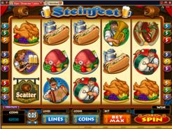 Play Steinfest Slots now!